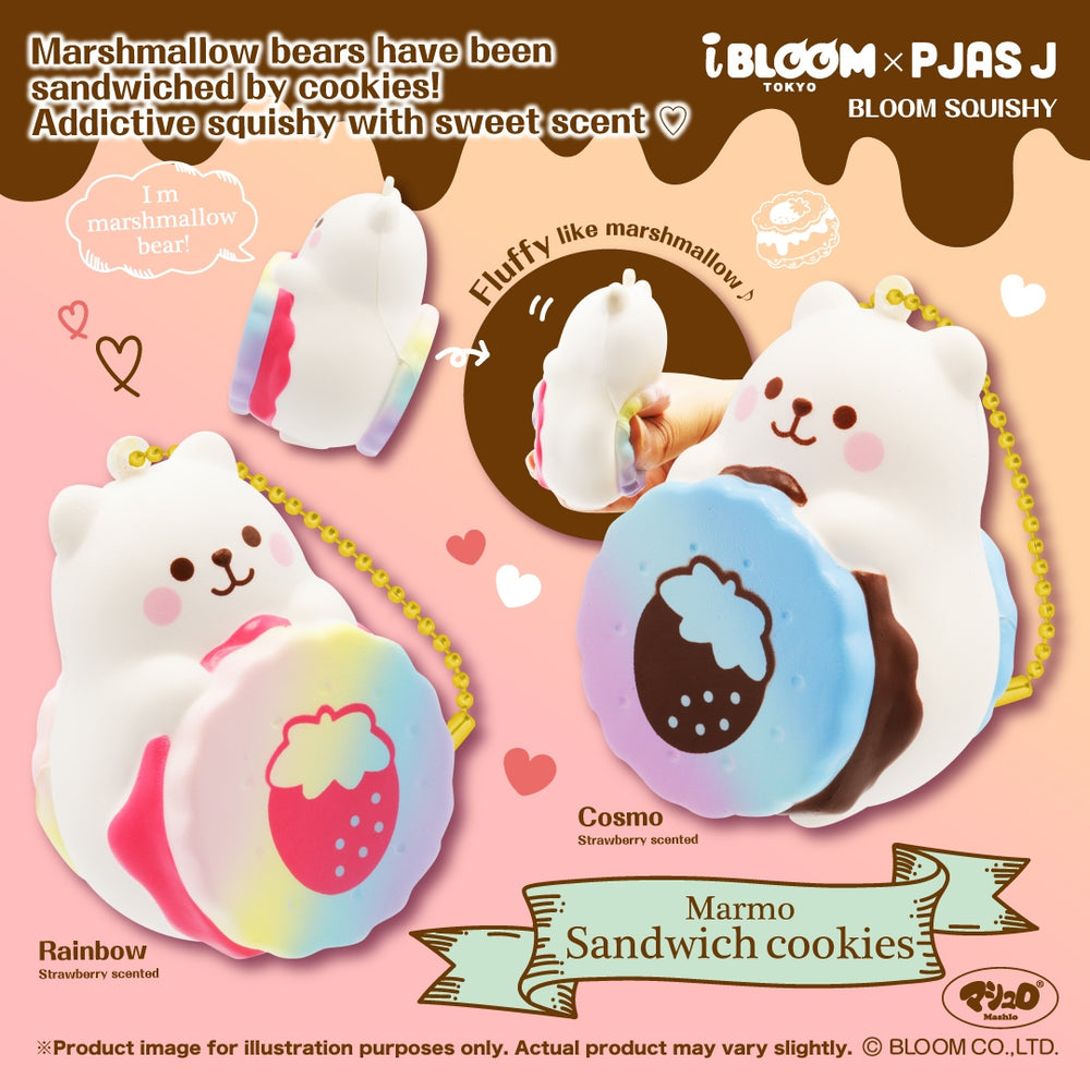 Limited Edition iBloom Marmo Cookie Squishy