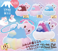 iBloom Fluffy Mt.Fuji and Cloud Bear Mini Squishy