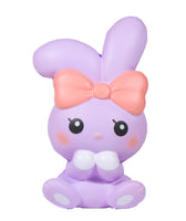 iBloom Angel Bunny Squishy purple bunny front view
