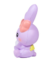 iBloom Angel Bunny Squishy purple bunny side view
