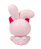 iBloom Angel Bunny Squishy pink bunny rear view