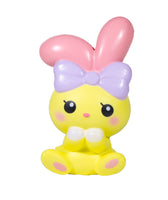 iBloom Angel Bunny Squishy yellow bunny front view