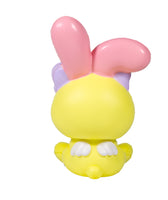 iBloom Angel Bunny Squishy yellow bunny rear view