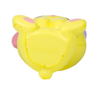 iBloom Angel Bunny Squishy yellow bunny bottom view