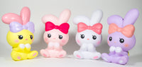 iBloom Angel Bunny Squishy all 4