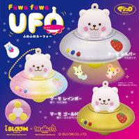 iBloom Marshmallow Bear UFO Squishy