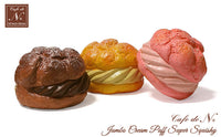 Cafe de N Jumbo Cream Puff Super Squishy