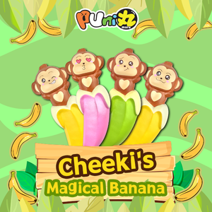 Puni Maru Cheeki's Magical Banana Company ad