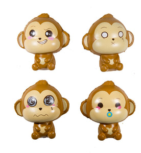 Puni Maru Baby Cheeki Squishy front view of all 4 versions
