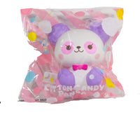 ibloom Cotton Candy Panda Squishy Melody version front view in packaging