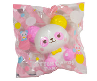 ibloom Cotton Candy Panda Squishy Sunny version front view in packaging