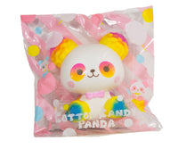ibloom Cotton Candy Panda Squishy Joy version front view in packaging