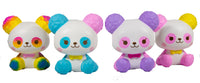 ibloom Cotton Candy Panda Squishy all 4 versions front view