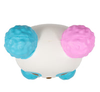 ibloom Cotton Candy Panda Squishy Dreamy version top view