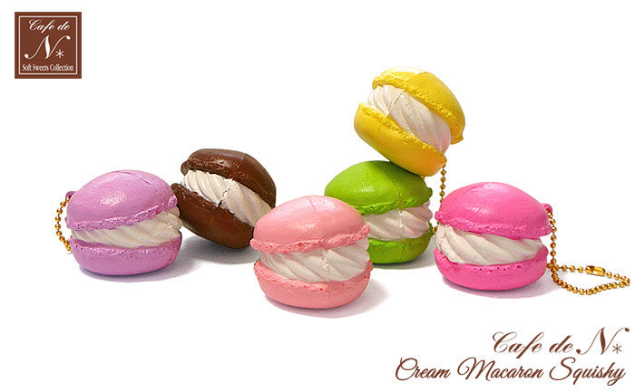 Cafe De N Squishy Tag : Cafe De N Cream Macaron Squishy