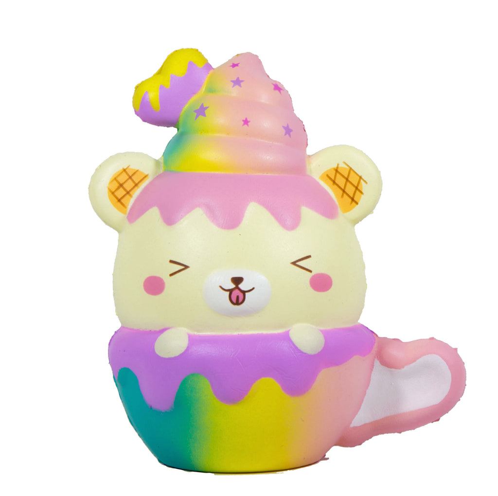 Yummiibear Cafe Cup Squishies by Creamiicandy and Puni Maru