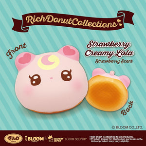 iBloom Limited Lollipop Girl Rich Donut Collections Squishy