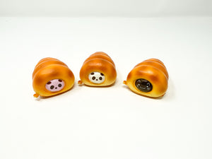 Puni Maru Mini Cornets Squishy all 3 versions front view