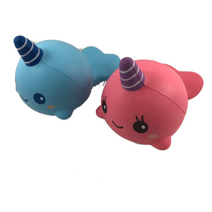 iBloom Big Millie and Billie the Whale Squishy Side view
