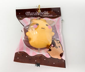 Creamiicandy Puni Maru Choco Mini Roasted Marshmelli Pig Piggy Squishy Girl