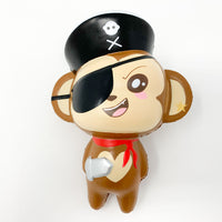 Puni Maru Jumbo Pirate Cheeki Squishy smile version front view