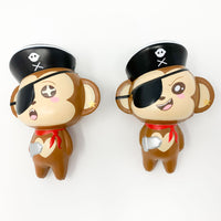 Puni Maru Jumbo Pirate Cheeki Squishy both versions front view