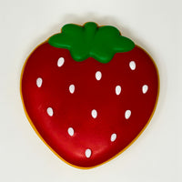 Ibloom Jumbo Strawberry Cookie Squishy red version