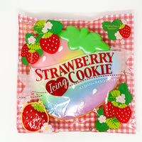 Ibloom Jumbo Strawberry Cookie Squishy rainbow version in packaging