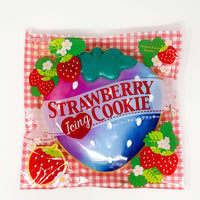 Ibloom Jumbo Strawberry Cookie Squishy galaxy version in packaging