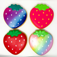 Ibloom Jumbo Strawberry Cookie Squishy all 4 versions