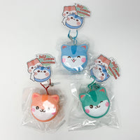 Poli Mini Cream Macaron Squishy all 3 versions