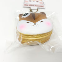 Poli Mini Pancake Squishy by Popularboxes Chocolate version bottom view