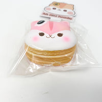 Poli Mini Pancake Squishy by Popularboxes Strawberry version bottom view