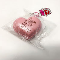Poli New Big Heart Macaron Squishy pink version