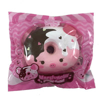 Marshmellii Piggy Donut Squishy Girl Front View in packaging