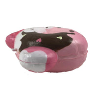 Marshmellii Piggy Donut Squishy Girl side View