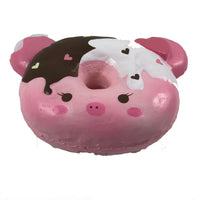 Marshmellii Piggy Donut Squishy Girl bottom View