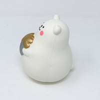 IBloom Marshmallow Bear Squishy Mr White Silver version side  view