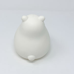 IBloom Marshmallow Bear Squishy Mr White Gold version rear view