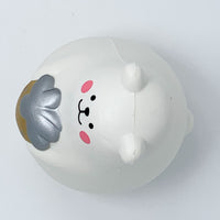 IBloom Marshmallow Bear Squishy Mr White Gold version top view