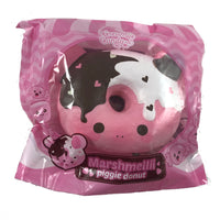 Marshmellii Piggy Donut Squishy Boy Front View in packaging