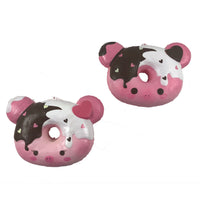 Marshmellii Piggy Donut Squishy front view both boy and girl version