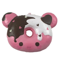 Marshmellii Piggy Donut Squishy Boy Front View