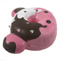Marshmellii Piggy Donut Squishy Boy Side View