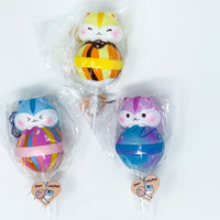 PopularBoxes Poli Lollipop Squishy all three versions