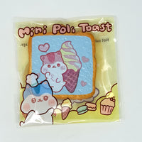 PopularBoxes Poli Mini Toast Squishy Blue Ice cream Version in packaging