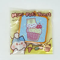 PopularBoxes Poli Mini Toast Squishy Blue Cupcake Version in packaging