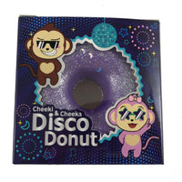 Puni Maru Disco Donut Squishy Purple version in box front view