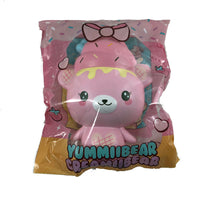 Creamiicandy Creamiibear Yummiibear Squishy front view in packaging