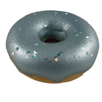 Puni Maru Disco Donut Squishy Silver version in side view